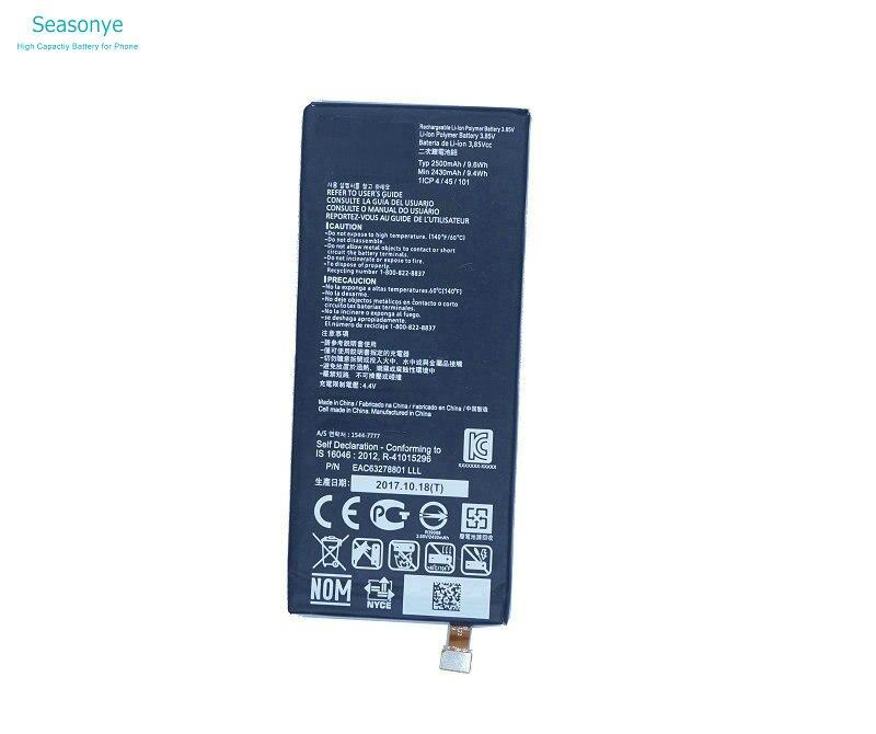 Seasonye 2430 mAh/9.4Wh BL-T23/BLT23/BL T23 Téléphone Remplacement batterie Pour LG X Cam X-Cam X Cam K580 K580Y F690 K580DS