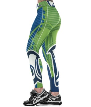 Unisex Football Team Seahawks Print Tight Pants Workout Gym Training Running Yoga Sport Fitness Exercise Leggings Dropshipping 1