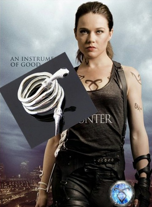 The mortal instruments city of bones isabelle serpent cuff