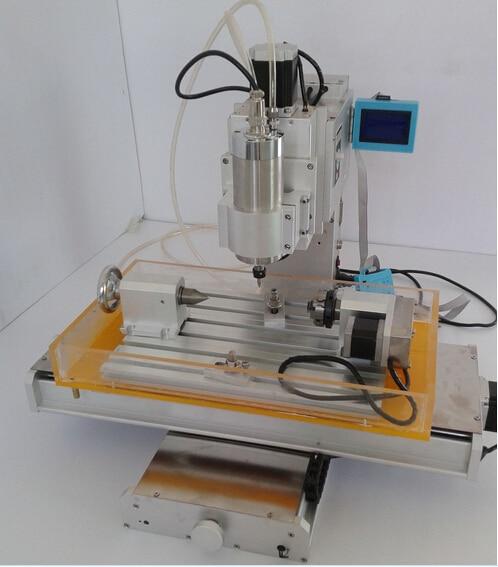 все цены на 3040 Column 4 axis CNC finished precision ball screw CNC engraving machine Industrial онлайн
