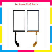 5pcs/lot high quality Touch Screen Digitizer Sensor Outer Glass Lens Panel For HTC Desire 816G