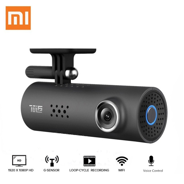 Original Xiaomi 70mai Dash Cam Pro WiFi Car DVR International Version 1080P 130 Degree Wide Angle