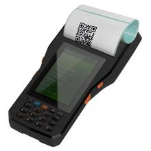 Android 6.0 OS Mobile 4G Handheld PDA Android Data Terminal with 80mm thermal printer,1D/2D Barcode Scanner and RFID reader