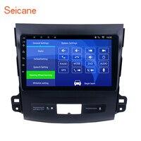 Seicane 9 Android 8,1/7,1 автомобильный Радио плеер для MITSUBISHI Outlander 2006 2007 2014 2008 2Din gps головное устройство