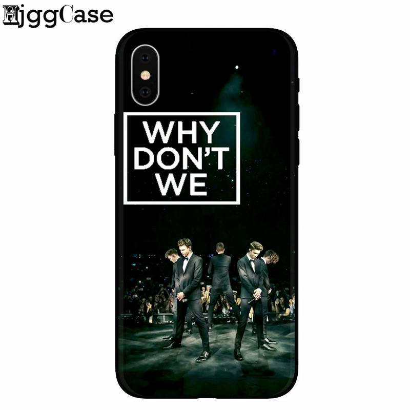 Why Dont We Fashion Tpu Soft Silicon Phone Case For Coque