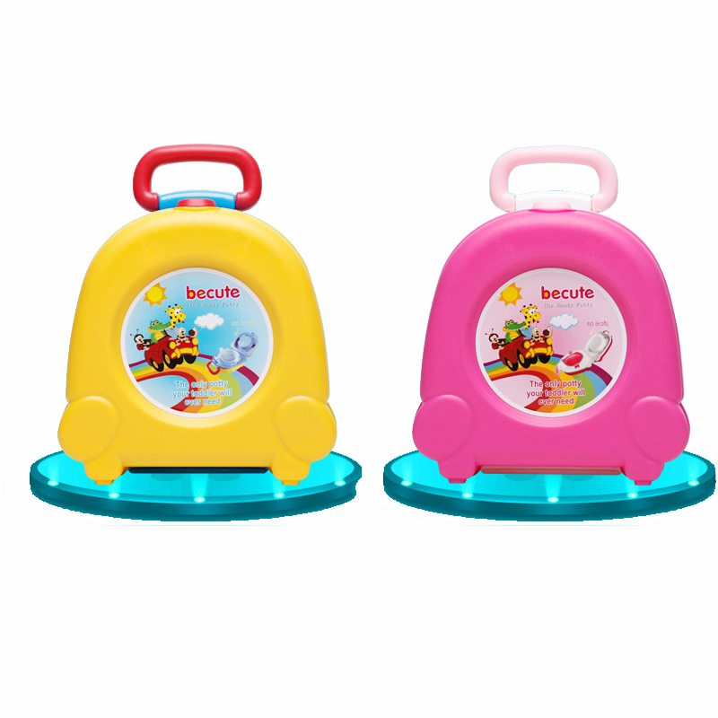 Baby Boy Girls Potty Toilet Car WC For Kids Toilet Trainer Seat Chair Potty Portable Pot Emergency Toilet for Outdoor Car Travel