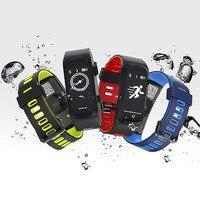 Original No 1 F4 Smart Bracelet IP68 Blood Pressure GPS Altitude Blood Oxygen Heart Rate Monitor