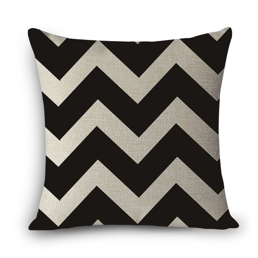 New Quatrefoil Cushions Scandinavian Geometric Cushion Cotton Pillow for Sofa Home Decoration Cushion 45x45cm no filling MYJ-C1