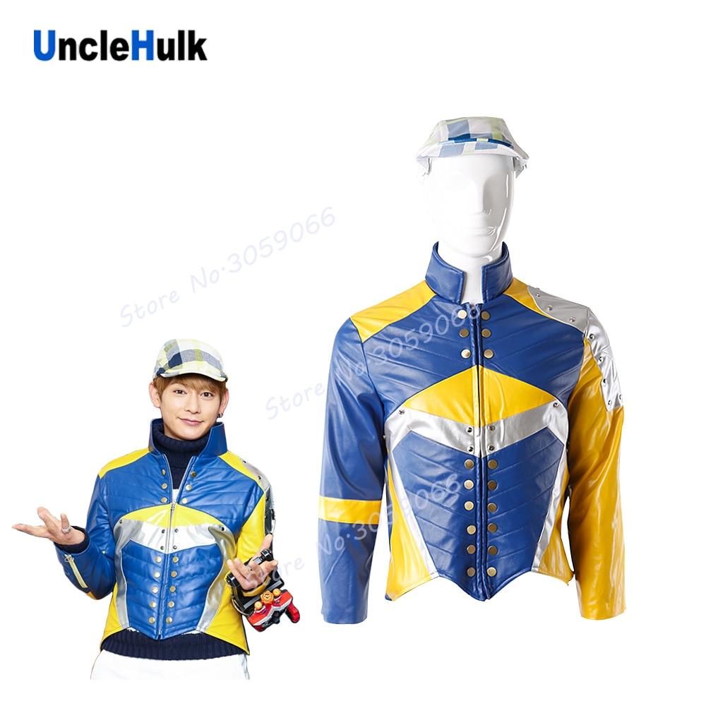 Uchuu Sentai Kyuranger jacket include hat UncleHulk
