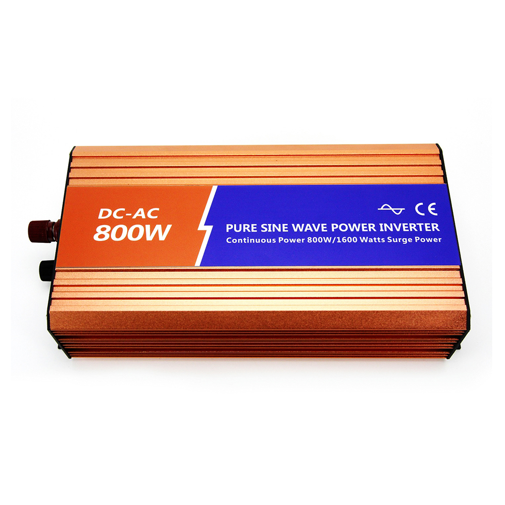 DECEN 800W Off-grid Pure Sine Wave Power Inverter 24VDC 100VAC 110VAC 120VAC For Solar Home PV or Wind Turbine System Connected