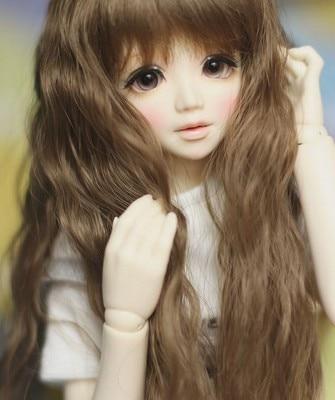 1 / 4bjd doll sd Luxi Si sister (free eyes + free make up)