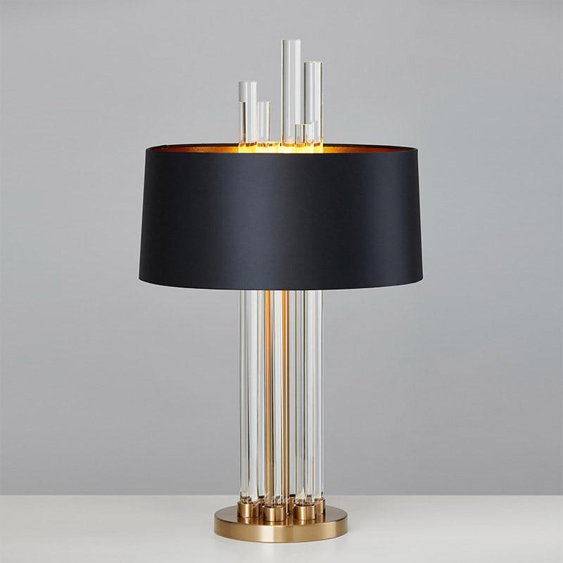 design moderne chrome 3 l ger lampe de table de chevet lumi re abat jour en verre salon nouveau. Black Bedroom Furniture Sets. Home Design Ideas