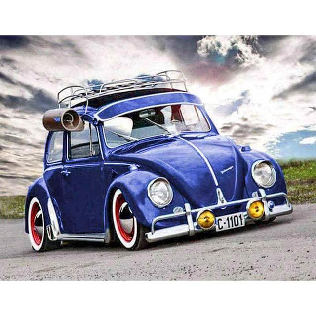 Cool Blue Car
