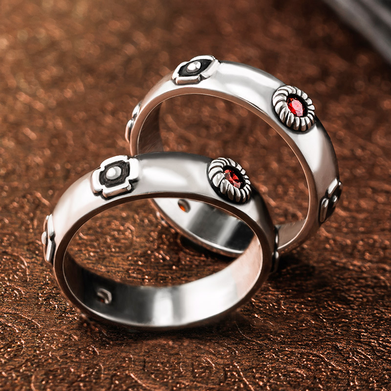 Anime Howl's Moving Castle Hauru S925 Sterling Silver Ring Sophie Rings Costume Jewelry Props Birthday Xmas Gift Hayao Miyazaki
