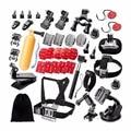 35-in-1 deportes cámara kit de accesorios kit de accesorios deportes al aire libre para gopro hero 4/3 +/3/2/1 sj4000 sj5000 sj6000