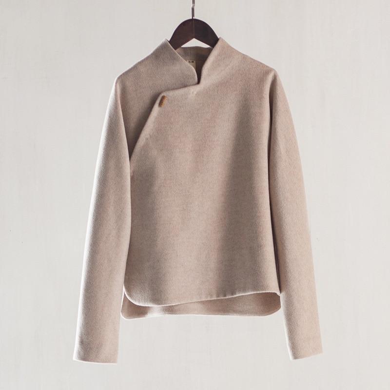 Popular Short Wool Coat-Buy Cheap Short Wool Coat lots from China ...
