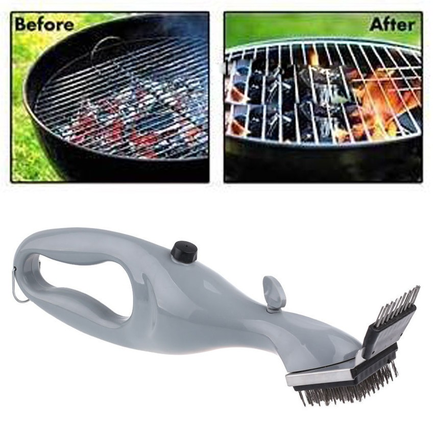 Barbecue Stainless Steel BBQ Cleaning Brush Churrasco Outdoor Grill Cleaner bbq accessories Cooking Tools