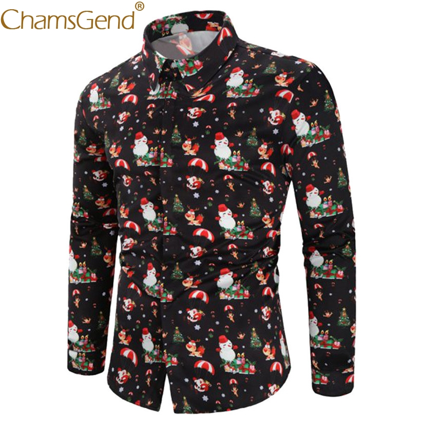 Newly Design Mens Fantasy Black Blouse Male Tops Autumn WinterTurn Down Collar Long Sleeve Men Shirt For Christmas Party 81121
