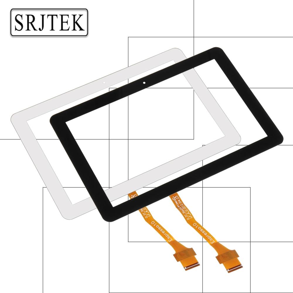 Srjtek 10.1 For Samsung Galaxy Tab 10.1 P7500 P7510 GT-P7500 Touch Screen Digitizer Sensor Glass Tablet PC Replacement Parts black 10 1 for samsung galaxy tab pro 10 1 t520 t525 sm t520 touch screen digitizer sensor tablet pc repairment parts