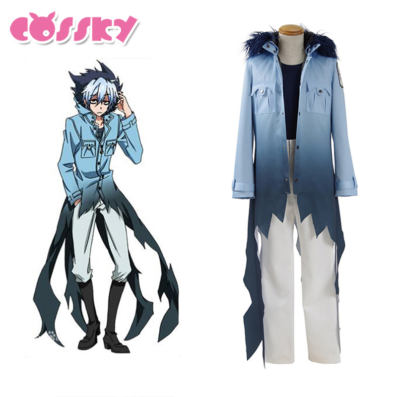 Servamp Sleepy Ash Vampire Cosplay Costumes Party Halloween Suit Coat Shirt Pants Black Cat Cosplay halloween witch style cotton coat cap suit for pet cat dog black yellow size xl