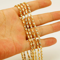 Necklace For Women Men Gold White Color Jewelry Fashion Jewelry Wholesale Two Tone Beauty Chain Necklace