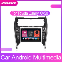 ZaiXi For Toyota Camry XV50 2012-2017 Android 2 Din Car Multimedia Video Player GPS Radio Auto Stereo Audio Bluetooth