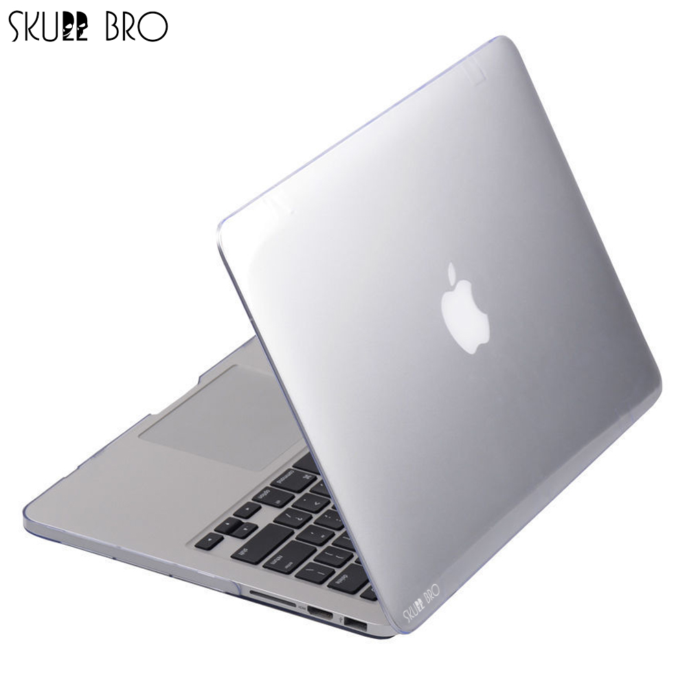 Transparent Case For MacBook Ultra Thin Crystal Clear Protective Shell Laptop Bag for MacBook Air Pro Retina 11 12 13 15 inch
