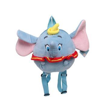 Genuine Da Disney 30 centímetros Dumbo Elefante saco De Brinquedos de Pelúcia Animais De Pelúcia mochila de pelúcia para o bebê de pelúcia boneca de Presente de Natal Das Crianças