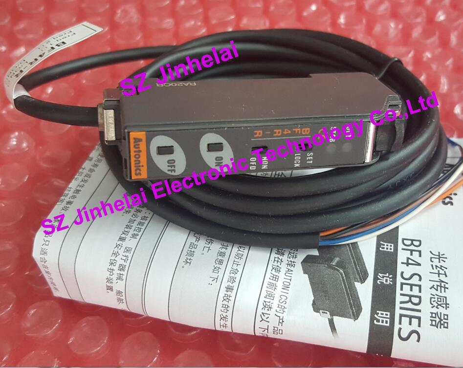цена на 100% Authentic original BF4R-E AUTONICS FIBER SENSOR Optical fiber amplifier
