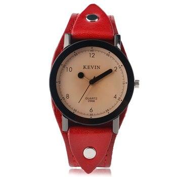 b4f6e0a7bc0b 2017 Кевин рок часы женские спичечные аналоговые модные повседневные  кварцевые ...
