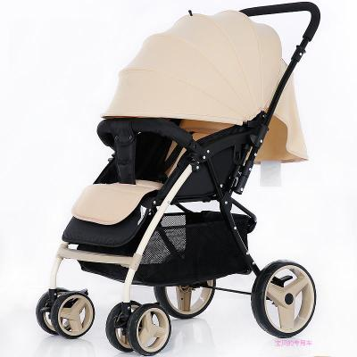 Baby stroller high landscape can be sitting on the umbrella two-way four-wheeled shock children light portable folding baby cart dsland umbrella nine kinds of color of children s cart umbrella can choose new design hot selling on sale
