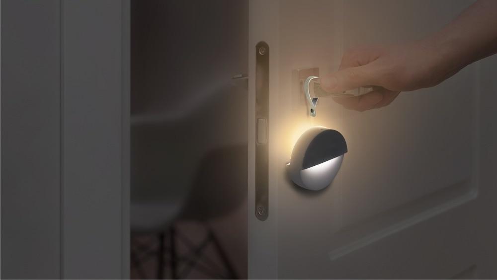 10Xiaomi Mijia Philips Bluetooth Night Light LED Induction Corridor Night Lamp Infrared Remote Control Body Sensor For Mi home APP