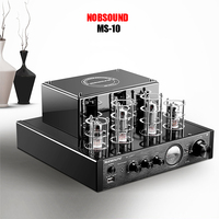 Nobsound MS 10D MKII USB Hifi 6P1 6N1 tube amplifier Bluetooth 3.0 amplifier Audio headphone amp USB lossless music Play 25W*2