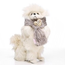 2018 Warm Fuzzy Dog Christmas Soft Color Block Scarf Pet Puppy Holiday Neck Acce