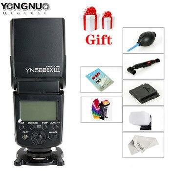 YONGNUO YN-568EX II YN568EX III Wireless TTL HSS Flash Speedlite for Canon 1100d 650d 600d 700d for Nikon D800 D750 D7100  D7200