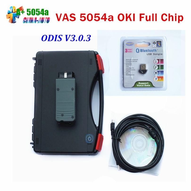 Цена за 2016 Самые низкие цены топ инструмент диагностики VAS 5054A с OKI чипы VAS5054 VAS 5054 Bluetooth VAS5054A В наличии
