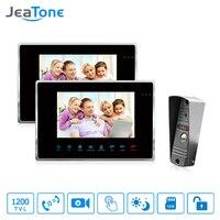 JeaTone Door Access Control 7 TFT Display Support Max 32 SD Card Video Doorphone Intercom With