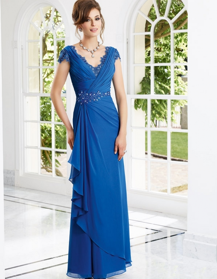 Floor Length Elegant Bridal Mother Of The Bride Pant Suits
