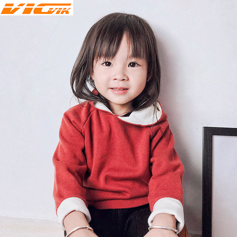 Toddler 1-5Yrs Girls Sweaters Pullovers Kids Knitwear Sweaters Kids Boys Girls Knitted Clothing 2018 Baby Boys Sweater Outwear