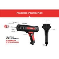 Loosen Rusty Bolts Tool 12V/110/220V Screw Quick Remover LED Lights Safe Flameless Bolt Heat Disassembler