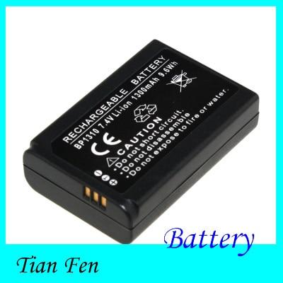 Nueva venta caliente 1 unids batería BP1310 BP 1310 batería recargable de la cámara para Samsung NX NX10 NX100 NX11 NX20 NX5 nuevo