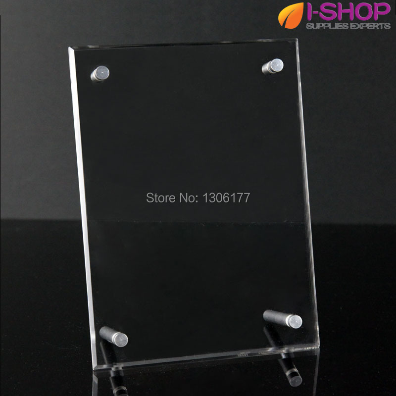 Acrylic Photo Frame Clear Photo Holders With Detachable Binding ...