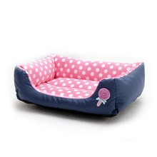 2016 New Fashion Lollipop  Spot Dog Pet Bed 4 Color Short Plush with Waterproof Surface Cat  Pets Bed