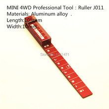 MINI 4WD Professional Tool:  Ruler  Self-made Parts Tamiya MINI 4WD Professional Tool:  Ruler J011 1Pcs/lot