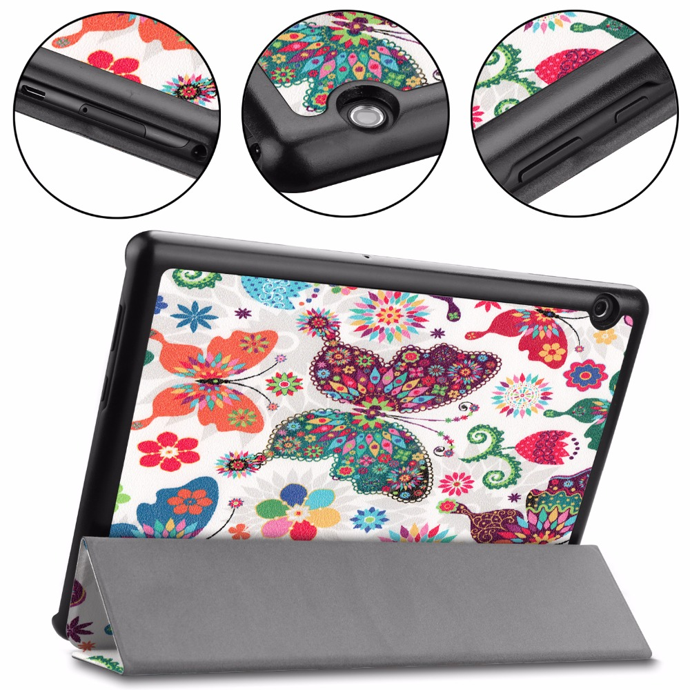 Printed Cover For Huawei Mediapad T5 AGS2-W09/L09/L03/W19 10.1