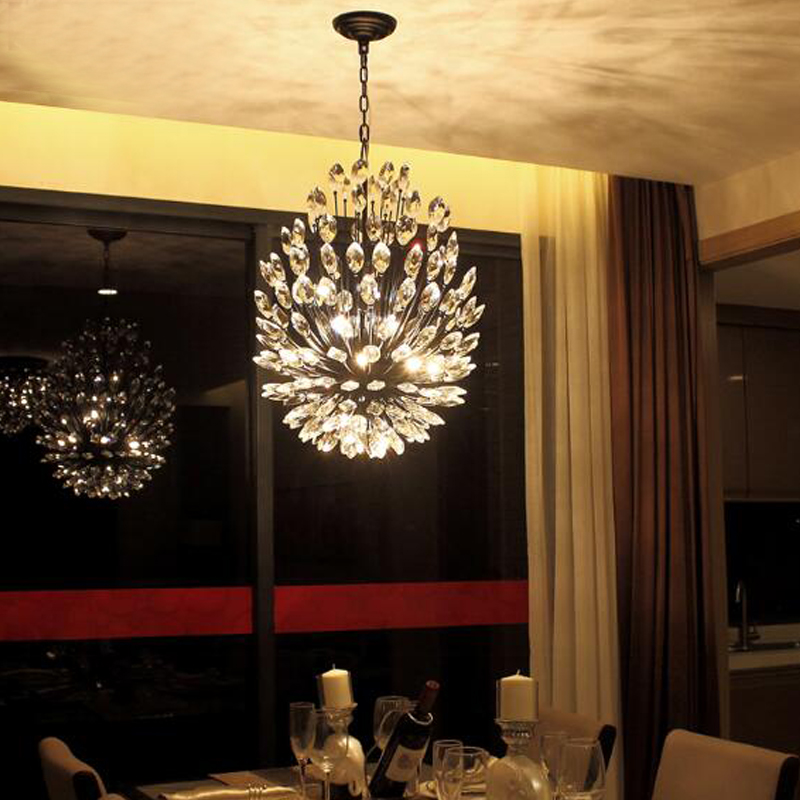 Room chandelier light bedroom dining room living room lighting fashion crystal lamp modern - Dining room crystal chandelier lighting ...