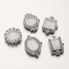 10 шт Платиновые насадки для часов 26 ~ 345x19 5 26x7 8 мм
