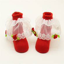 9CM Sock Newest Candy Color Infants Baby Cotton Ankle Socks Toddler Warm Lace Socks