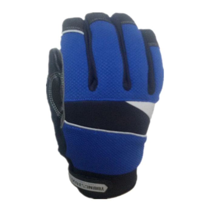 100% waterproof and windproof cut-resistant performance work glove(Large,Blue)100% waterproof and windproof cut-resistant performance work glove(Large,Blue)