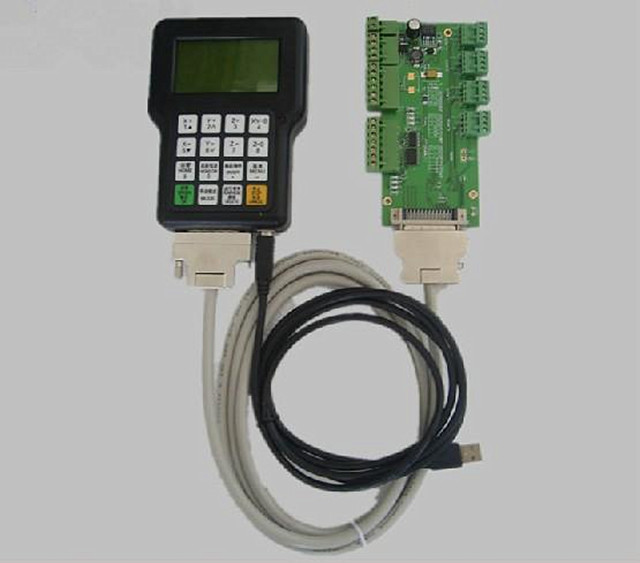 New DSP controller 0501, DSP handle, English version DSP0501 cnc controller 3 axis dsp0501 cnc wireless channel for cnc router dsp 0501 controller dsp handle remote english version
